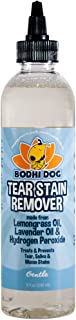 Bodhi Dog Large 8oz Natural Tear Eye Stain Remover or Set of 2 Combs| Remove Stains and Clean Residue for Dogs and Cats | Safe Gentle Cleaner Solution for Fur and Delicate Coats