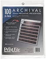 Archival 35mm Size Negative Pages Holds Seven Strips of Six Frames by Print File
