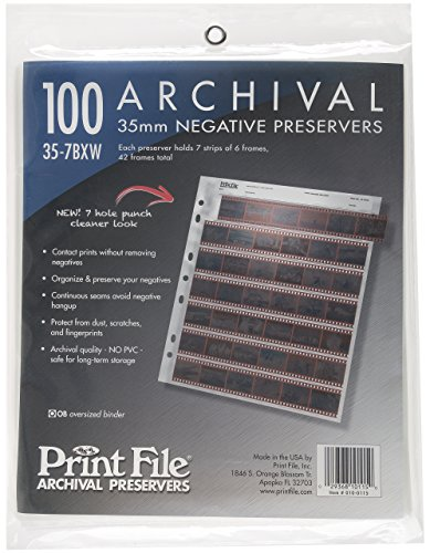 Printfile Negativhüllen 35mm / 100 Stück