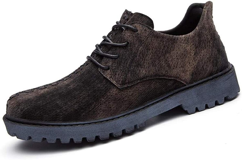 Men's Uniform Work Boots Lightweight Work shoes Casual Off-Road Cowboy Low Help Leather shoes Men's shoes
