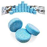 50Pcs Windshield Washer Fluid Tablets,Windshield Washer Fluid Concentrate,1 Piece Makes 1.05 Gallons,1 Pack Makes 52.5 Gallons