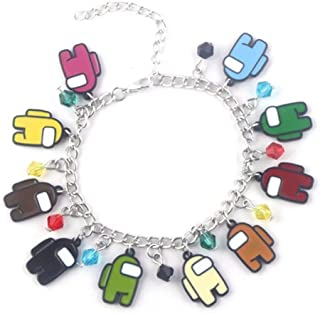 """Game Themed Charms Themed 8"""" Friendship Bracelets for Teens Girl Women Charm Bracelet Quality Cosplay Jewelry"""