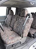 Durafit Seat Covers, FD9-CL-C- 2004-2008 Ford F150 XLT Front and Back Seat Set of Seat Covers in Conceal Camo Endura. Front 40/20/40 Split Seat with Integrated Seatbelts. Rear 60/40 Split Seat