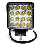 BeiLan Focos de Coche LED, 48W 12V / 24V Faros Led Trabajo Proyectores Luz de...