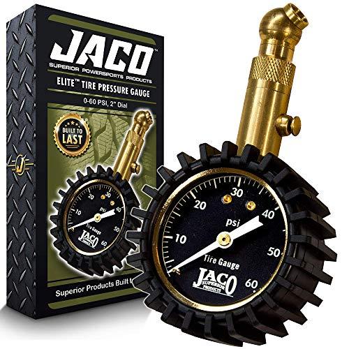 JACO Elite Tire Pressure Gauge  60 PSI