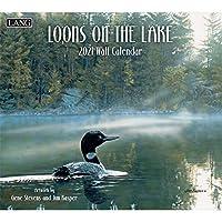 LANG Loons On The Lake 2021 壁掛けカレンダー (21991001925)