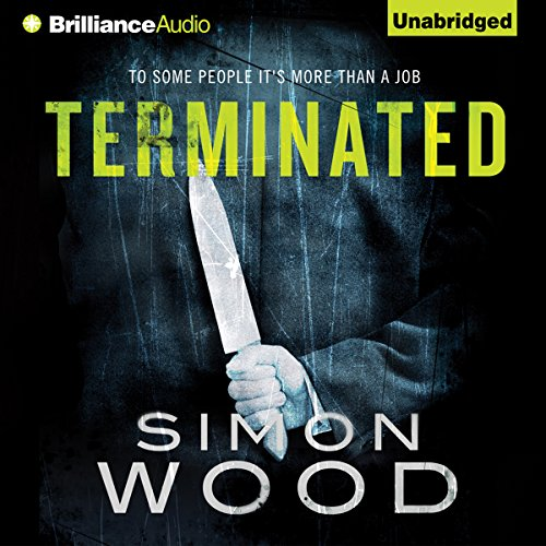 Terminated audiobook cover art