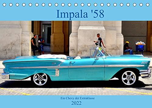 Impala \'58 - Ein Chevy der Extraklasse (Tischkalender 2022 DIN A5 quer)