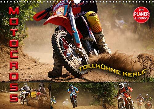 Motocross - tollkühne Kerle (Wandkalender 2021 DIN A3 quer)