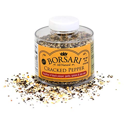 Borsari Cracked Pepper Seasoning - Gourmet Seasoning Mix