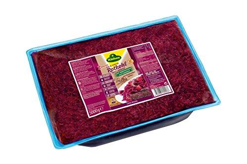 Kühne Fix und Fertig Rotkohl mit Äpfeln / Zwiebeln, Beutel, 1er Pack (1 x 5 kg)