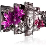 murando - Cuadro en Lienzo Buda Zen SPA 200x100 cm Impresión de 5 Piezas Material...