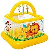 Mr. Fragile Hüpfburg, Kinder Farbe Aufblasbare Sportspielzeug Trampolin mit Ocean Ball, Spielhaus...