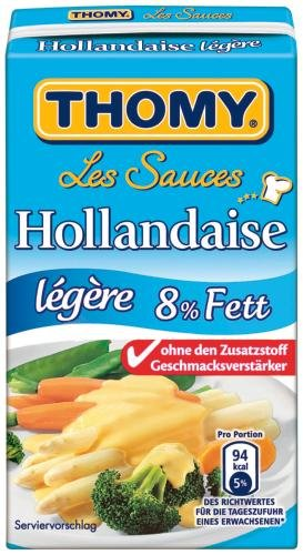 Thomy Les Sauces Hollandaise legere, (6 x 250 ml)