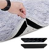 Esteopt 24 pinzas antideslizantes para alfombra, agarre de doble cara, deslizante y levantamiento, reutilizable y lavable