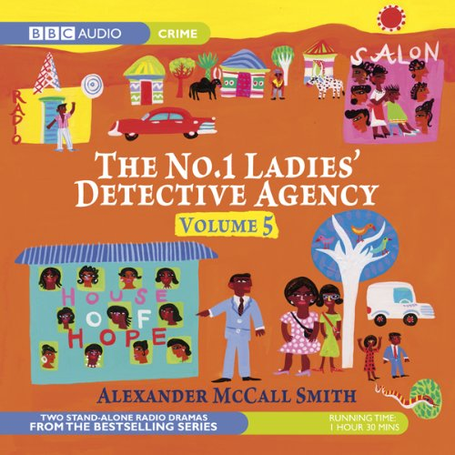 The No. 1 Ladies' Detective Agency 5 (Dramatised) cover art