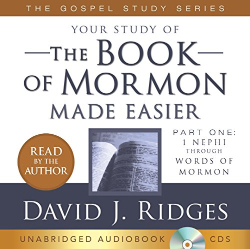 Book of Mormon Made Easier -  David Ridges, Study Guide, Audio CD
