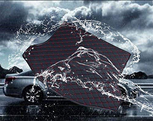 Ffz Onderdelen Auto Boot Liner Laarzen Liner Trunk Cover Kofferaumschutzmatte zonder Zijbeschermer Xpe Leer voor Evoque LV Lederen Zwarte draden Beige