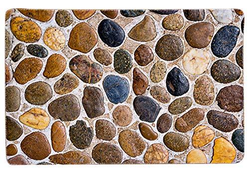 EACHPT Tappeto Ingresso Casa, Tappetini Assorbenti In Ingresso e Cucina, Tappeti, Tappetini, Tappetini In Flanella, Impermeabili, Lavabili e Durevoli (Dimensioni: 40 * 60 cm)