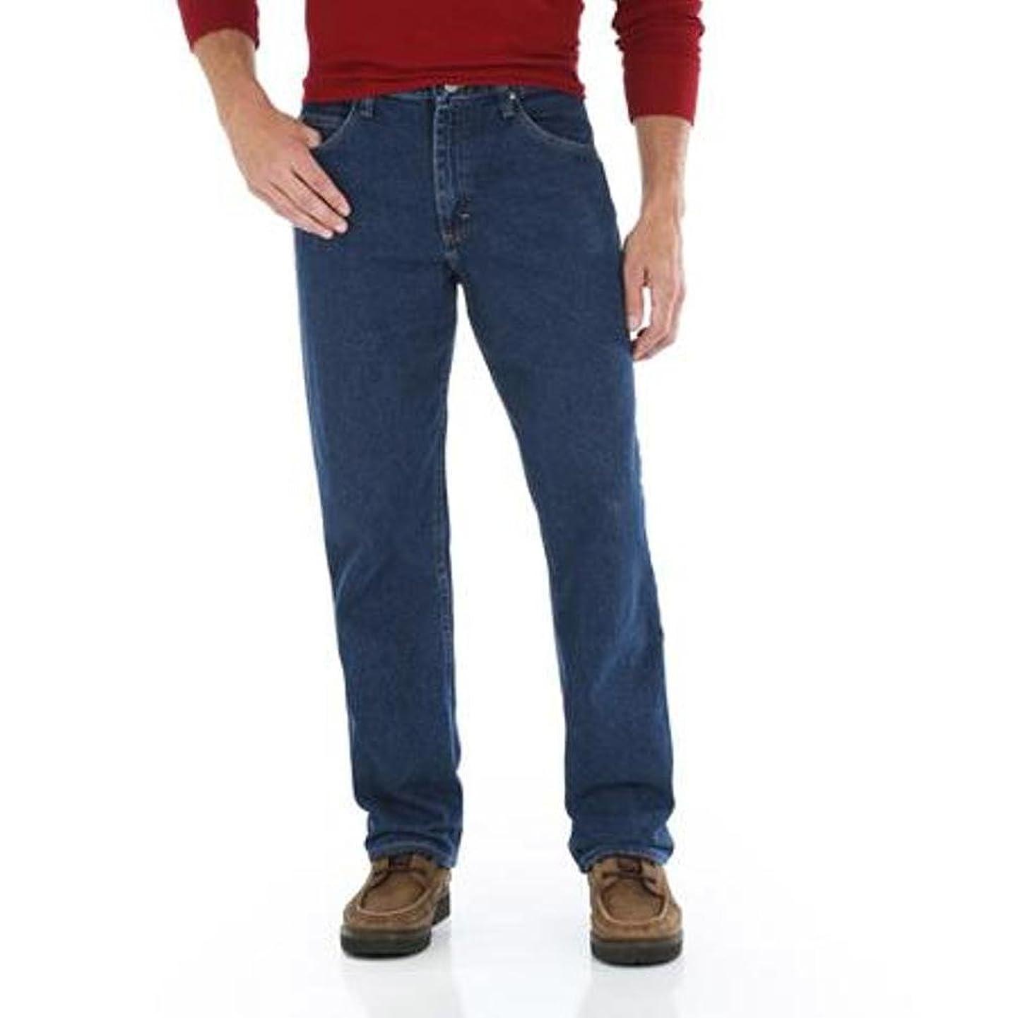 Wrangler Genuine Men's Relaxed Fit Jean (36X30, Storm Denim)