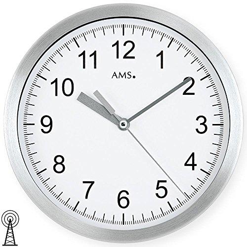 AMS Uhrenfabrik Horloge Argenté 20 x 4 x 235 cm