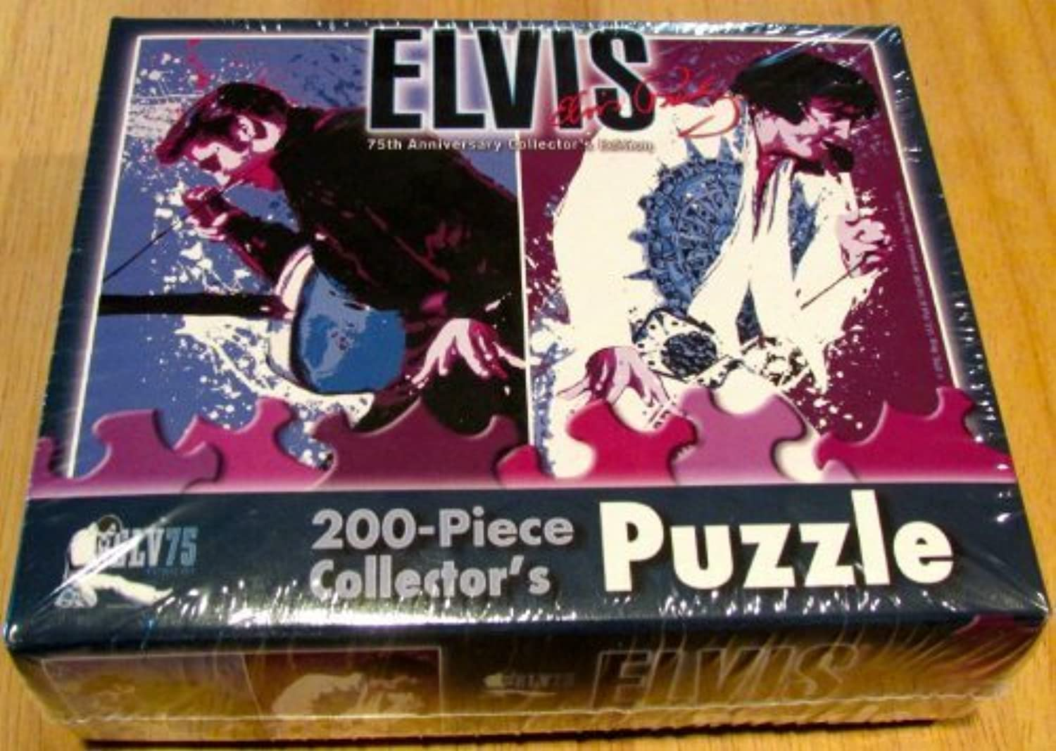 Elvis Presley 75th Anniversary Edition 200-pc Collector's Puzzle by USAopoly