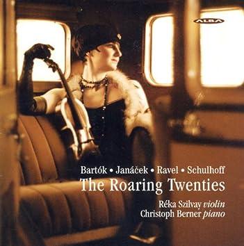 Bartok, B.: Rhapsody No. 1 / Janacek, L.: Violin Sonata / Ravel, M.: Violin Sonata in G Major (The Roaring Twenties)