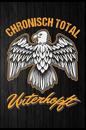 Chronisch total unterhopft: Bier Adler Hopfen Bierkrug Fassbier Brezel Bierflasche Biergarten Geschenk (6