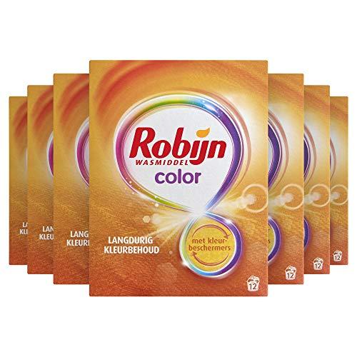 Robijn Waspoeder Color 7 x 12 wasbeurten Voordeelverpakking