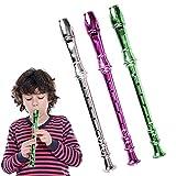 ArtCreativity 13 Inch Metallic Flutes - Set of 3 - Plastic...