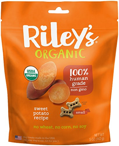 riley' S Organics–Sweet Potato–5oz Small galletas–Human...