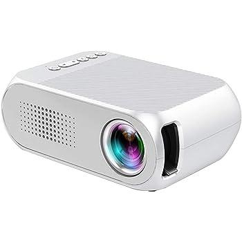 Mini proyector, TOPQSC Proyector de Video portátil 1080P ...