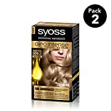 SYOSS - Oleo Intense Coloración Permanente Sin Amoníaco  - Tono 8.05 Rubio Beige - 2 uds