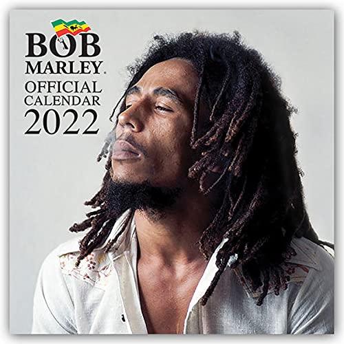 Bob Marley - Offizieller Kalender 2022 - 16-Monatskalender: Original Pyramid Kalender...