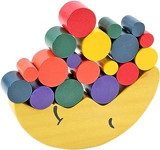 Xlp 月の均衡ゲームの木の積み重ねのブロックのバランスをとるゲームの子供のためのおもちゃの分類