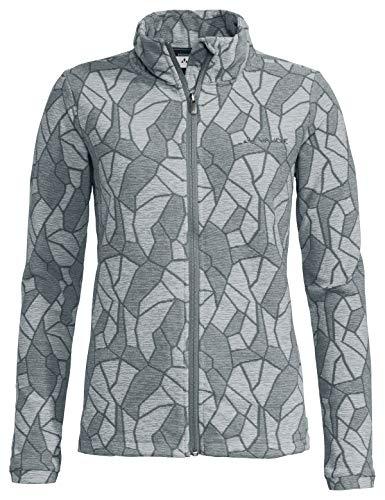VAUDE Damen Women's Limford Fleece Jacket Jacke, Pewter Grey, 40