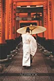 Notebook: Fushimi Inari, Kyoto Torii Gates [110 pages]: Fushimi Inari, Kyoto Torii Gates