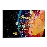 EWRW 9 Radiohead-Poster, Gemälde auf Leinwand,