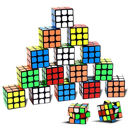 Mini 80's Puzzle Cubes. Pack of 18. Give one to each of your guests to keep them amused. Also a great party bag filler.