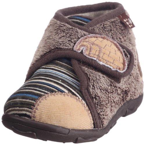 GBB Marsouin, Pantofole Ragazzo, Marrone (Brown - Braun (Brown)), 22 EU