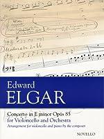 エルガー : チェロ協奏曲 ホ短調 Op.85/ノヴェロ社/ピアノ伴奏付ソロ楽譜