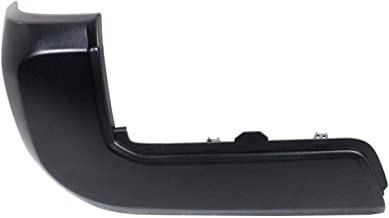 New Rear Left Driver Side Bumper End For 2016-2018 Toyota Tacoma Pickup 4wd 2wd Plastic Black Without Park Assist Sensor Holes TO1104133 5215604010
