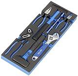 Heyco/Heytec 50829003200 - Caja de herramientas (con martillo y alicates, 6 unidades)