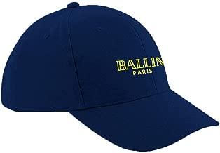 Ulterior Clothing Ballin Paris Embroidered Baseball Cap