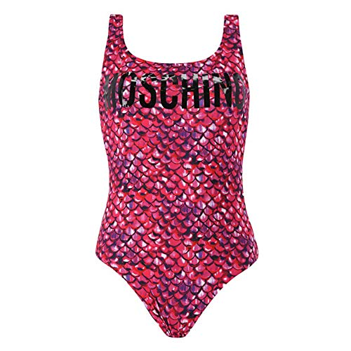 Moschino Damen Kostüm Badeanzug 2A8113-2128 Schwarz - II