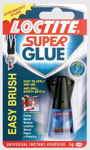 Loctite Super Glue Easy Brush in Anti-spill safety Bottle 5g Ref 87819150