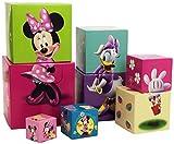 Diset - Juguete para apilar y Encajar Minnie Mouse (46256)