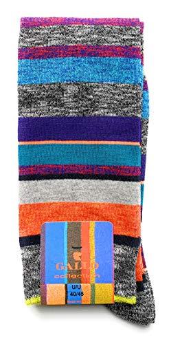 Gallo Socken, gestreift, mehrfarbig, Einheitsgröße 31473
