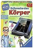 Ravensburger 25048 - Erforsche den Körper - Spielen und Lernen für Kinder, Lernspiel für Kinder von 4-7 Jahren, Spielend Neues Lernen für 2-4 Spieler - Kai Haferkamp