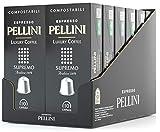 Pellini Caffè - Espresso Pellini Luxury Coffee Supremo - 120 Cápsulas (12 x 10) - Compatible Con Máquina Nespresso